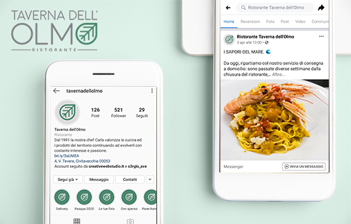 Social Media Marketing e Realizzazione sito web - Taverna dell'Olmo - Creative Web Studio - Web Agency