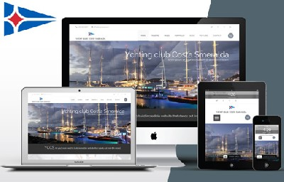 Sito internet con  e-commerce e gestione regate - Yacht Club Costa Smeralda - Creative Web Studio - Web Agency